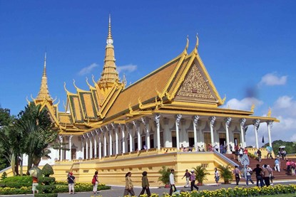 Royal Palace Museum in  Cambodia